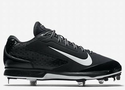 Low Pro Air ($100 Nike Air Huarache Pro Low Metal Baseball Cleats Shoes Black White 13)
