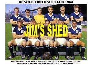 DUNDEE-F-C-TEAM-PRINT-1963-GILZEAN-PENMAN-SLATER-COX