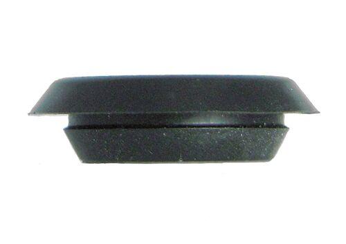 "BPF- Flush Mount Black Plastic Body n Sheet Metal Hole Plugs - Size 1/4"" to 4"""