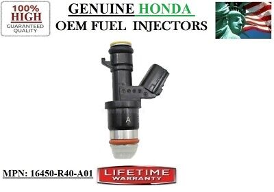 Acura ILX 2.4L I4 /years 2013-2015/ Fuel Injector  HONDA [#16450-R40-A01]