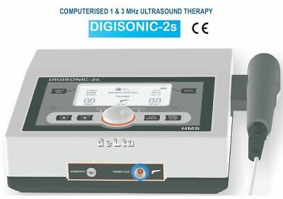 Digisonic 2s Ultrasound Therapy 1mhz 3mhz Physiotherapy Compact Portable Unit