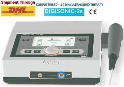 Prof.physiotherapy Ultrasound Therapy 1mhz 3mhz Pain Relief Digisonic Therapy