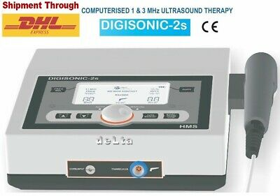 Physiotherapy Ultrasound Therapy 1mhz 3mhz Pain Relief Ultrasound Device Ce