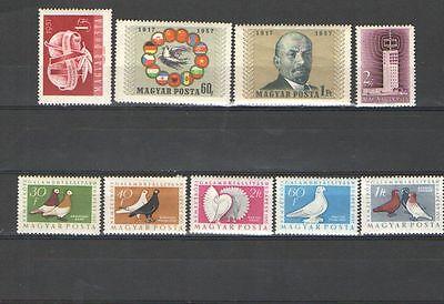 2575 Serie (Q2575 - UNGHERIA - 1957 - SERIE COMPLETA ** - VEDI FOTO)
