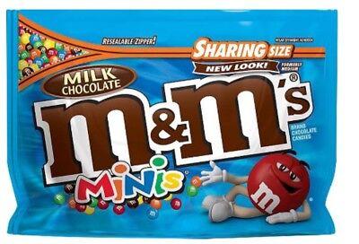 NEW Sealed MINIS Chocolate M&M's 10.10 oz Bag (M&m Minis)