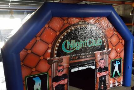 Inflatable Night Club Party Hire Marquee - For Sale - $4500