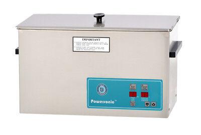 Crest Powersonic 2.5 Gal Digital Ultrasonic Cleaner 45khz Sweep P1200h-45