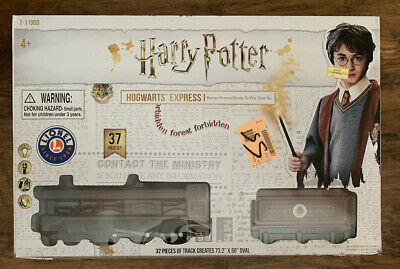 Harry Potter Hogwarts Express Lionel Ready To Play Train Set 7-11960 New Openbox