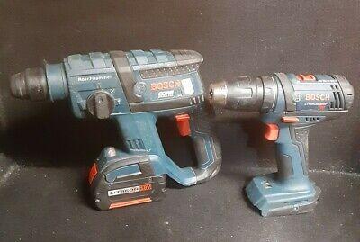 Bosch Rhh181 18v Li-ion Brushless 34 In Sds-plus Rotary Hammer Drill Battery