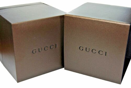 Gucci Ladies Watch Storage Box Case & Instructions Booklet Manual