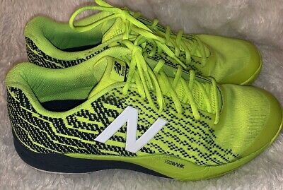 Green Clay Tennis (New Balance 996 Tennis Shoes Clay Court Lime Green Sneakers MENS 14 2E Wide)
