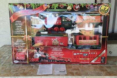 Santa Express Train Set Christmas EZTEC 27 Pieces