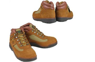 Juniors / Classic Grade School  kids  Timberland Hiking Field Boots Brown 40929M
