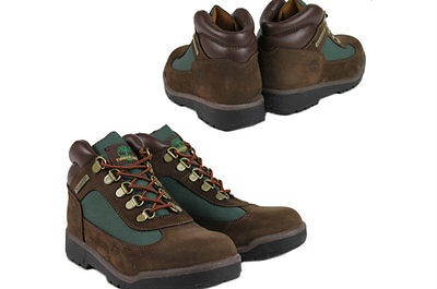 - Timberland Junior/Kids  FIELD BOOT 16937 - Brown - Olive