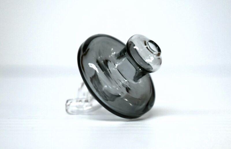 Heady Glass Cap UFO Alien Spinner Bubble Cap DOUBLE DIRECTIONAL VENT 25mm