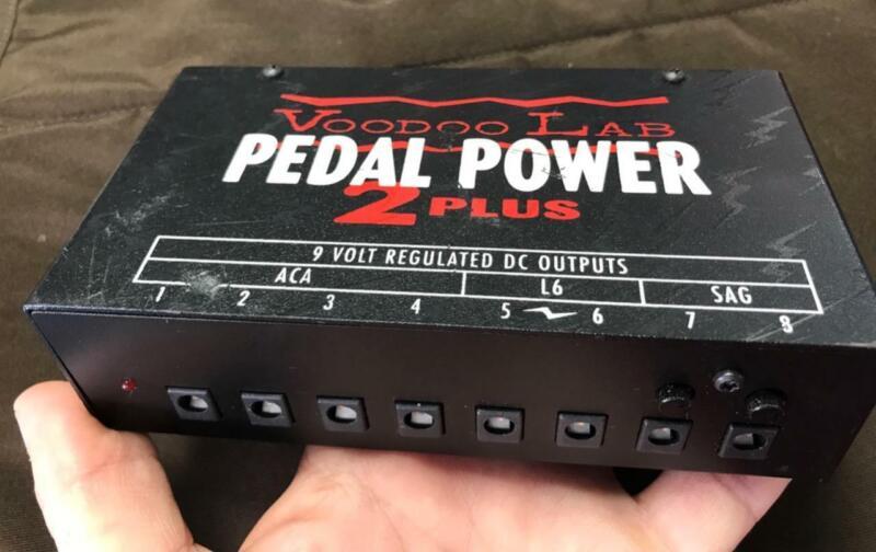 Voodoo Lab Pedal Power 2 Plus + Guitar Pedal Power Supply
