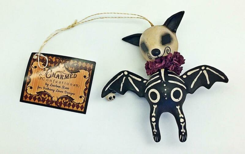 Skeleton Animal Ornament Bat Bethany Lowe Vintage Style Collectable Halloween