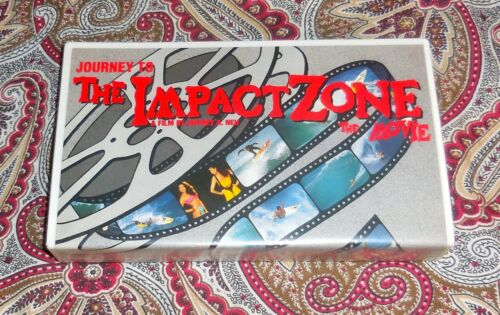 JOURNEY TO THE IMPACT ZONE - JEFF NEU - SURFING VHS - HTF - LOOK!