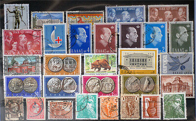 Greece-Lot stamps (ST402)