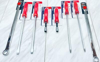 🧱 BRAND NEW 🧱 GENIUS TOOLS SLOTTED & PHILLIPS SCREWDRIVERS, HEX NUT DRIVERS