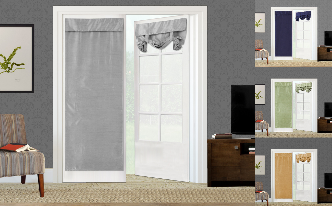 NEW 1PC ELEGANT ROLL UP LINED BLACKOUT WINDOW CURTAIN FRENCH