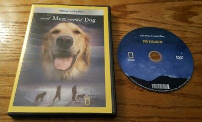 And Man Created Dog (DVD) National Geographic Channel video documentary film
