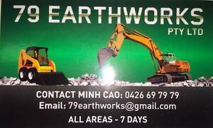 79earthworks -  Excavation, Bobcat and Tipper Truck Services Carramar Fairfield Area Preview