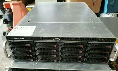 Supermicro 16 Bay Server Chassis Dell CT-040 Disk Array