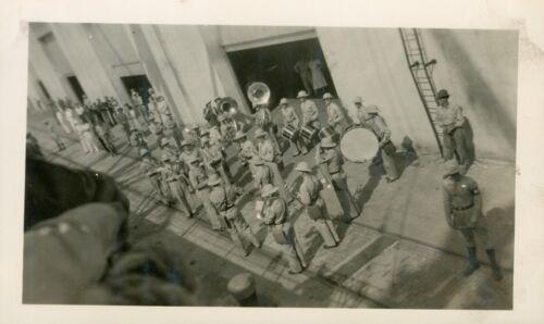 1940 Hickam Field Hawaii Photo #8, Army Transport Pier No. 5, Army Band