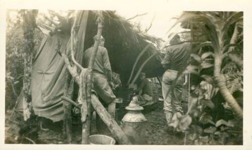 1930s Schofield Barracks training Hawaii 2 Photos jungle camp