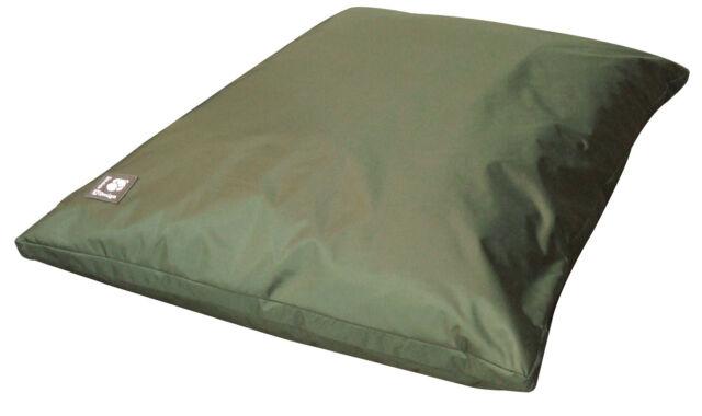 Danish Design County Green Waterproof Dog Bed Deep Duvet