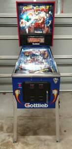 Street Fighter 2 Pinball Machine - Restored