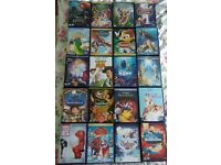 45 Disney DVD's