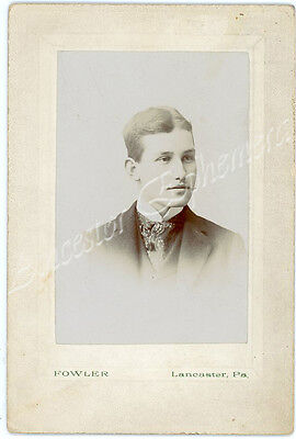 George Herman BOUSUM 1879 - 1928 photo Pennsylvania PA Mary SNYDER FETTER