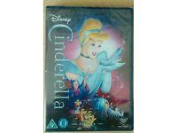 Disney Cinderella dvd BRAND NEW STILL SEALED