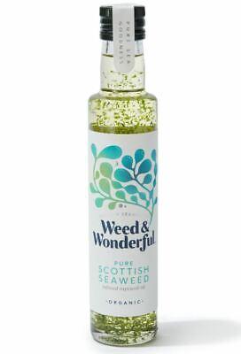 Weed and Wonderful Puro Escocés Alga Marina Infusionados Colza Aceite 250ml