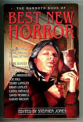 The Mammoth Book of Best New Horror by Stephen Jones (ed) Vol. (Best Book Of Horrors)