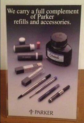 Vintage Parker Pen Ad