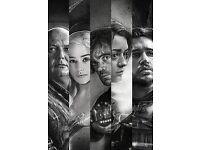 Game Of Thrones - Lord Varys, Daenerys, Tyrion, Arya, Jon Snow