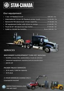 industrial equipment moving services forklifts, trucks, scissor lifts, machinery & industrial tools Edmonton Area Preview