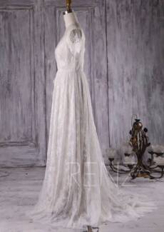 Brand new, off white, lace wedding dress.