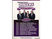 6 Impractical jokers tickets for London O2 arena 14th January 2017