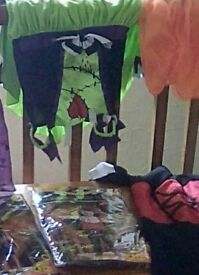 Halloween costumes. Start age 1 to 7 boy and girls. Some new . excellent condition.