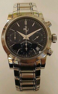 Girard Perregaux stainless Ferrari Automatic Chronograph Watch 37MM