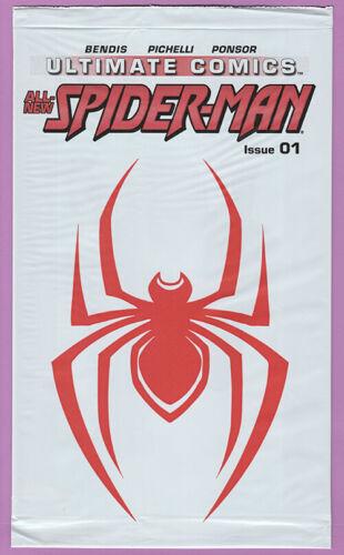 Ultimate Comics Spider-Man 1 Miles Morales Spider-Verse polybag sealed 1st