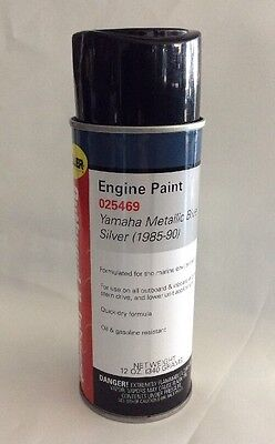 Yamaha Metallic Blue Outboard Engine Paint Moeller 025469 Spray