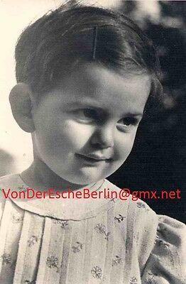KINDER-PORTRAIT - Origfoto der bedeutenden JÜDISCHEN Fotografin Leny SONNENFELD