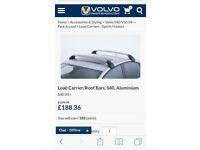 Genuine Volvo s40 roof bars