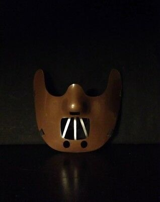 Silence of the Lambs Hannibal Lecter Corffee Mask Halloween Costume Party - Silence Of The Lambs Halloween Costume
