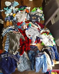 Lot of boys clothing 3-6 months